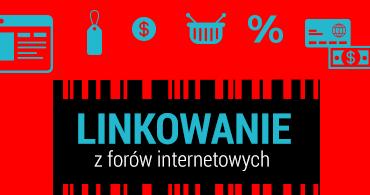 linkowanie z forów internetowych